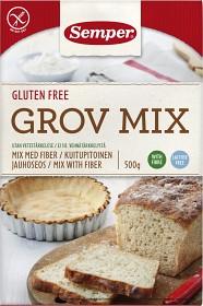 Bild på Semper Grov Mix glutenfri och laktosfri 500 g