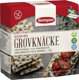 Bild på Semper Grovknäcke, glutenfritt och laktosfritt, 215 g