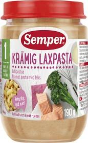 Bild på Semper Krämig Laxpasta 12M 190 g