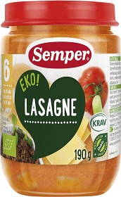 Bild på Semper Lasagne 6M 190 g