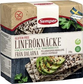 Bild på Semper Linfröknäcke, knäckebröd 230 g