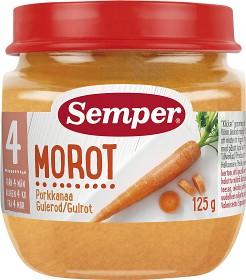 Bild på Semper Morotspuré 4M 125 g