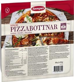 Bild på Semper Pizzabottnar Glutenfria 300 g