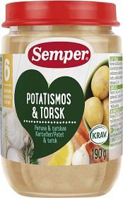 Bild på Semper Potatismos & Torsk 6M 190 g