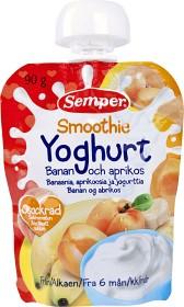 Bild på Semper Smoothie Yoghurt Banan och Aprikos 6M 90 g