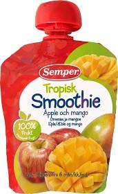 Bild på Semper Tropisk Smoothie Äpple och Mango 6M 90 g