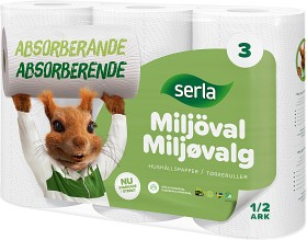 Bild på Serla Hushållspapper Classic Miljöval 3 p