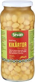Bild på Sevan Kikärtor Glas 560 g