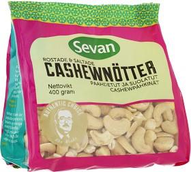 Bild på Sevan Rostade & Saltade Cashewnötter 400 g