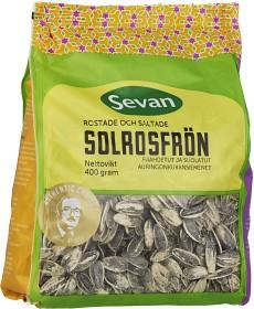 Bild på Sevan Rostade & Saltade Solrosfrön 400 g