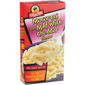 Bild på ShopRite Macaroni & White Cheddar 207 g