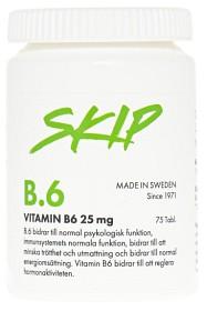 Bild på Skip B6 25 mg 75 kapslar