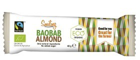 Bild på Smiling Bar Baobab Mandel 40 g