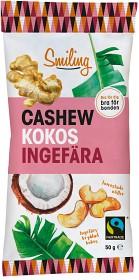 Bild på Smiling Cashew Kokos Ingefära 50 g