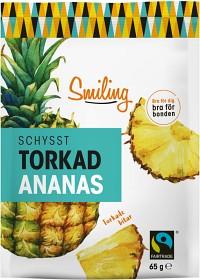 Bild på Smiling Torkad Ananas 65 g