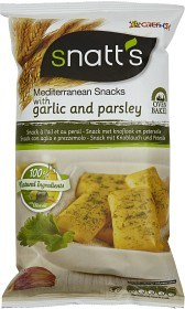 Bild på Snatt's Bread Snacks Garlic & Parsley 120 g