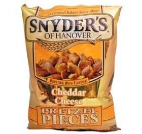 Bild på Snyder's Pretzels Cheddar Cheese 125 g