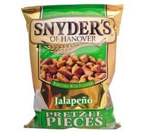 Bild på Snyder's Pretzels Jalapeno 125 g