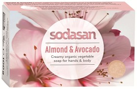 Bild på Sodasan tvål Almond & Avocado 100 g