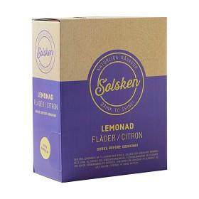 Bild på Solsken Lemonad Fläder & Citron BiB 3 L
