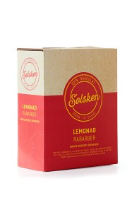 Bild på Solsken Lemonad Rabarber BiB 3 L