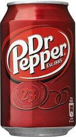 Bild på Dr Pepper Burk 33 cl inkl. pant