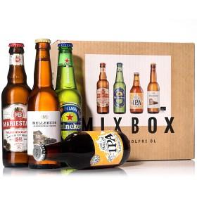 Bild på Spendrups Mixbox Alkoholfri Öl 8x33cl