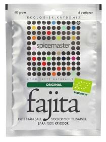 Bild på Spicemaster Fajita Original EKO 40 g