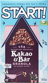 Bild på Start! Kakao & Bär 500 g
