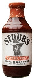 Bild på Stubb's Sweet Heat BBQ Sauce 510 g