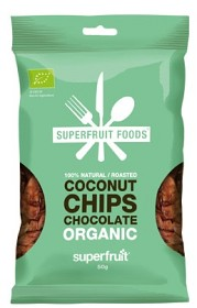 Bild på Superfruit Foods Kokoschips Choklad 50 g