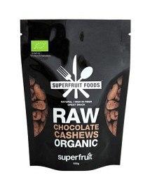 Bild på Superfruit Foods Raw Chocolate Cashews 100 g