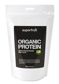 Bild på Superfruit Organic Protein Raw Cacao 400 g