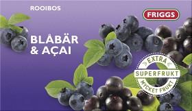 Bild på Superfrukt Rooiboste Blåbär & Acai 20 st