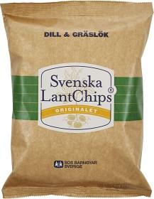 Bild på Svenska LantChips Dill & Gräslök 200 g