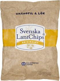 Bild på Svenska LantChips Gräddfil & Lök 200 g