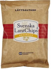 Bild på Svenska LantChips Lättsaltade 200 g