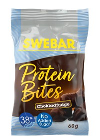 Bild på Swebar Protein Bites Chokladfudge 60 g