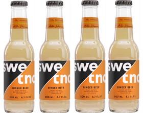 Bild på Swedish Tonic Ginger Beer 4x200 ml
