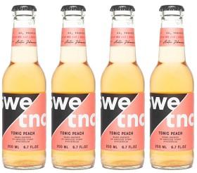 Bild på Swedish Tonic Water Peach 4x200 ml