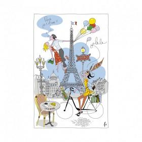 Bild på T & B Maison Kökshandduk La Parisienne 1 p
