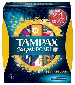 Bild på Tampax Compak Pearl Regular 18 st