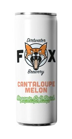 Bild på The Dirtwater Fox Cantaloupe Melon Slim Can 25 cl