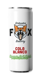 Bild på The Dirtwater Fox Cola Blanco Slim Can 25 cl