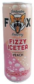 Bild på The Dirtwater Fox Fizzy Icetea Peach 250 ml