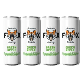 Bild på The Dirtwater Fox Green Apple Slim Can 4x25 cl