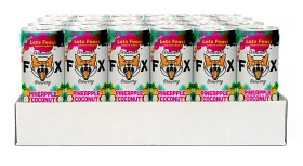 "Bild på The Dirtwater Fox Pinapple Coconut ""Lets Feast"" Slim Can 24x25 cl"