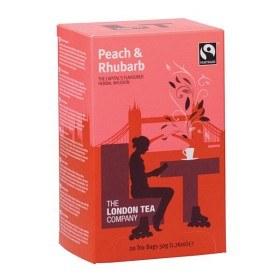 Bild på The London Tea Company Peach & Rhubarb 20 st