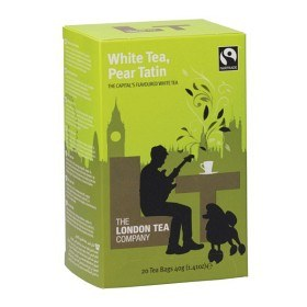 Bild på The London Tea Company White Tea, Pear Tatin 20 st