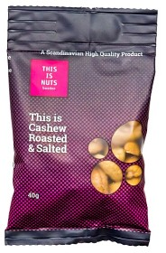 Bild på This is Nuts Cashew Roasted & Salted 40 g